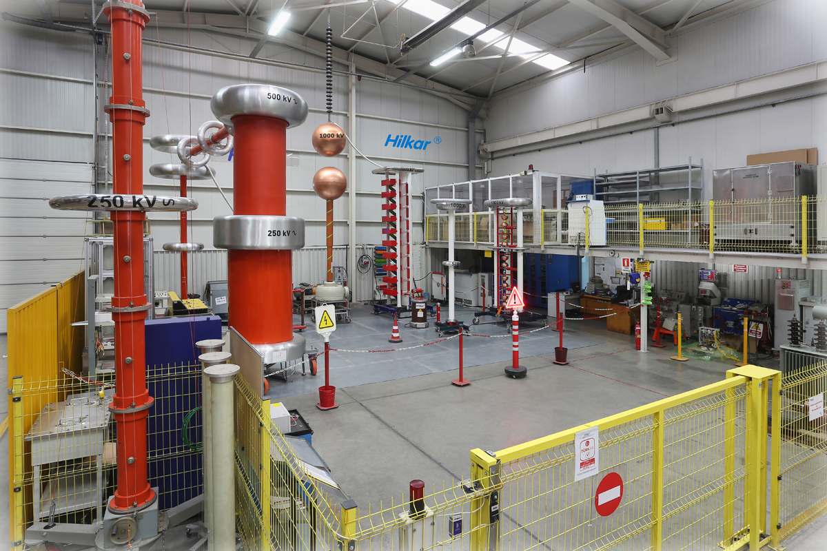High Voltage Testing : Accredited test laboratory